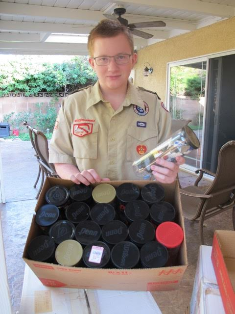 Eric Barlog Eagle Scout Project
